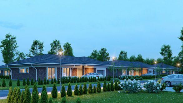 Naujos statybos gyvenamų namų Tvenkinio kvartalas - Panevėžio rajone