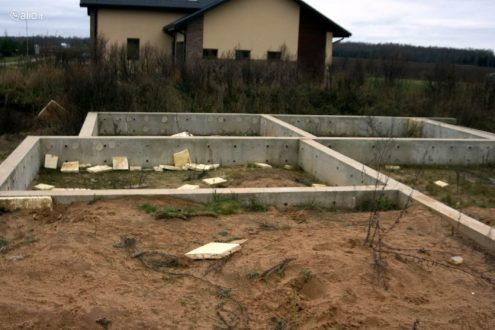 Namo projektas su pamatais Molainių kaime - 15